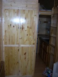 New and Improved closet doors