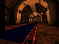 The right corridor