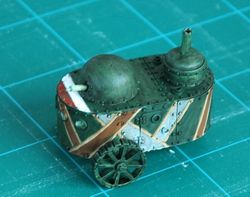 Kindred Armoured Car WIP