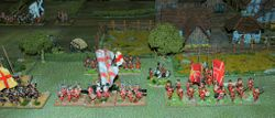 First Game  - The English Brigade