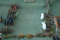 Prussians Advance in Company Columns