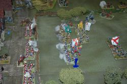 Main Game - trial by musket fire