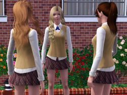Emily, Isabelle and Alanna
