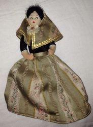 Souvenir doll face A