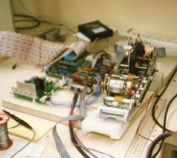 Magnetic card reader under development