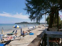 Alykes Beach.
