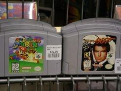 Mario and Goldeneye 007.