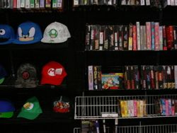 Hats and Retro Games