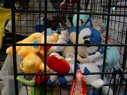 Sonic's sleeping
