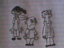 Ed, Edd n Eddy Lost Episode drawing