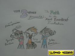"The Three Joes presents: The Path to the ""Most Excellent"" Evolution Album Cover! ^^"
