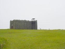 Recreated Gate @ Andersonville Prison