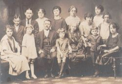 My Father's (James P. Strong) Family