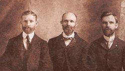 My grandfather Charles E. Strong and his two brothers Howard & William