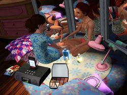 A#3:Late Night Slumber Party