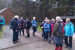 Another group at end of Alvah walk.