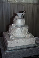 bling bling royal cake