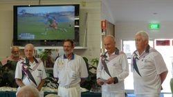 Cooktown Orchid Festival Mens Fours 1st Place