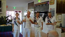 Cooktown Orchid Festival Mens Fours Sporters