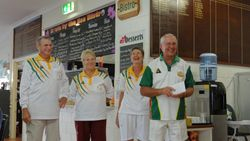 Cooktown Orchid Festival Mixed Fours 1st Place