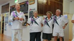 Cooktown Orchid Festival Mixed Fours 2nd Place