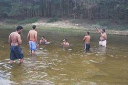 hot water dip
