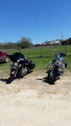Swampy's and My bike before the bike show