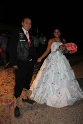 Skunk at his wedding