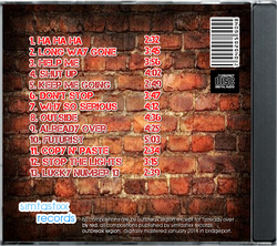 Broken Places Official CD Back