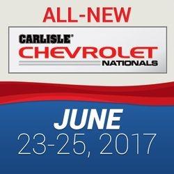 Carlisle GM Nationals June 23-25 2017