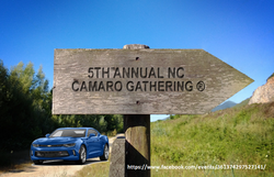 5th Annual NC Camaro Gathering®