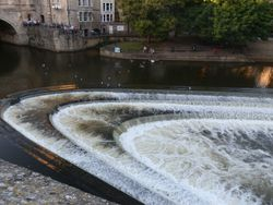 Bath river Avon