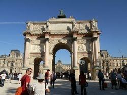 Paris near the Louvre