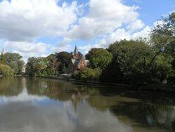 Brugge waterways