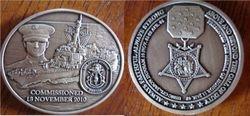 Jason Dunham Launch Medallion