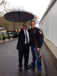 NYPD Sgt. Perez and JF LeBlanc