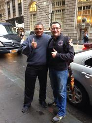 NYPD Detective Vidot and JF LeBlanc