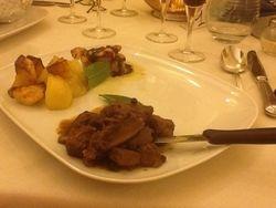 First class Italian Meal