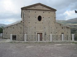 Old building next to Castello where people were placed to die