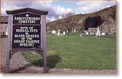 Famine cemetery, Cork
