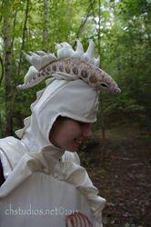 Lure and mantle headdress www.chstudios.net
