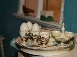 Egg cups  from 1870-80