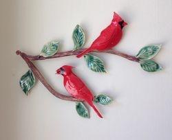 Cardinal Wall Hanging