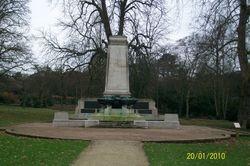 War Memorial, Christchurch Park