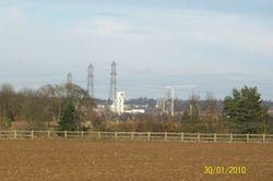 Ipswich from Wherstead