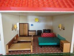 Bed-sitting room, closed season