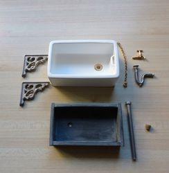 Two kitchen sinks