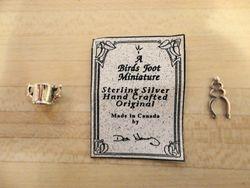 Birds Foot Miniature's silverware