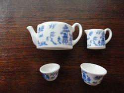 Detail of tea set