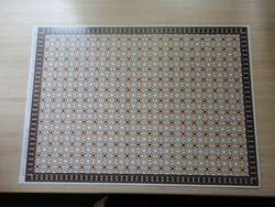 Tessellated floor card